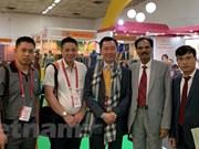 Des entreprises vietnamiennes présentent leurs produits en soie en Inde