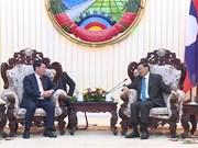 Le Premier ministre laotien salue la coopération entre les polices vietnamienne et laotien