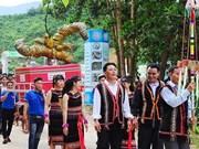 Ouverture du 3e festival de ginseng Ngoc Linh à Quang Nam