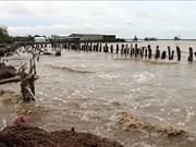 Kien Giang : de fortes pluies causent de lourds dégâts