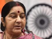 Décès de l'ancienne cheffe de la diplomatie indienne: message de condoléances du Vietnam