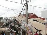 Cambodge : au moins 13 blessés dans l'explosion d'un camion-citerne