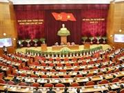 Cérémonie d'ouverture du 11e Plénum du CC du Parti  (XIIe mandat)