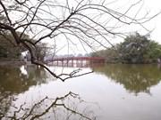Le lac de l'Épée restitué au changement de saison