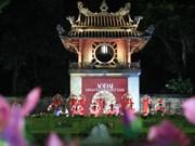 Défilé de l'ao dai, patrimoine culturel du Vietnam