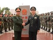 Le 5e Échange d'amitié de la défense frontalière Vietnam-Chine commence