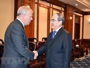 Renforcement de la coopération entre HCM-Ville et le Royaume-Uni