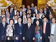 Le Premier ministre rencontre des urbanistes