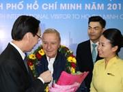 Hô Chi Minh-Ville accueille le visiteur étranger numéro 7 millions