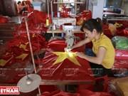 Le village des drapeaux à Hanoï