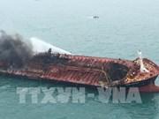 Incendie de l'Aulac Fortune : 21 marins en état de santé stable
