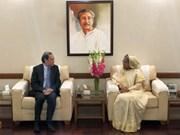 L'envoyé spécial du Premier ministre en visite au Bangladesh
