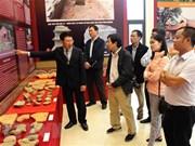 Inauguration de l'exposition sur la secte bouddhiste Zen Truc Lam