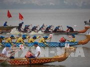 Ouverture du festival de courses des bateaux-dragons de Hanoï élargi 2019