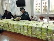Un énorme trafic de drogues démantelé à Ho Chi Minh-Ville