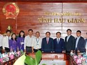 Hau Giang cherche à renforcer sa coopération avec la province sud-coréenne de Jeollanam-do