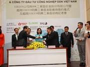 Des entreprises taïwanaises investissent 30 millions de dollars dans la ZE de Binh Phuoc