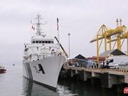 Le navire ICGS VIJT des Garde-côtes indiens à Da Nang