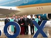 La présidente de l'AN vietnamienne assiste à la cérémonie de remise d'avions à Toulouse