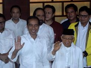 Félicitations au président indonésien Joko Widodo