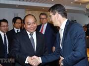Le PM Nguyen Xuan Phuc rencontre des dirigeants de plusieurs groupes norvégiens