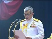 Le roi thaïlandais préside la première réunion du nouveau Parlement