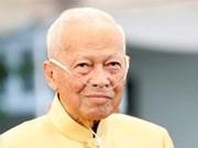Message de condoléances du Vietnam suite au décès de l'ancien Premier ministre thaïlandais