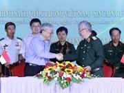 Le Vietnam et Singapour renforcent leur coopération dans la défense