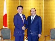 Le Premier ministre Nguyen Xuan Phuc reçoit les dirigeants de certaines localités japonaises