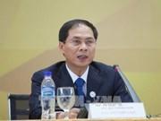 Le vice-ministre des AE Bui Thanh Son parle des contributions du Vietnam au Sommet du G20