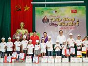 Vietjet fait équipe avec des organisations pour soutenir des enfants démunis