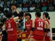 Ouverture du tournoi de volley-ball féminin VTV Coupe Hoa Sen 2019