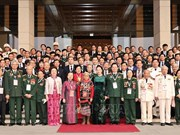 La présidente de l'AN rencontre des délégués du 10e Congrès d'émulation patriotique national