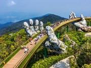 Le pont d'Or à Da Nang élu parmi les nouvelles merveilles du monde par Daily Mail