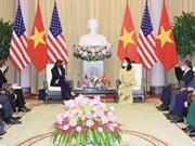 La vice-présidente Vo Thi Anh Xuan reçoit son homologue des États-Unis Kamala Harris