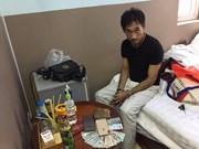 Un trafiquant de drogue cambodgien arrêté à Ho Chi Minh-Ville