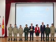Ouverture d'un cours de formation sur les opérations pour l'hôpital de campagne de niveau 2 No 2