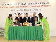 Le Vietnam et la France renforcent leur coopération dans la pédiatrie