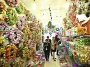 L'ambiance de Noël s'empare de Hanoi