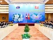 La 41e réunion du Comité intergouvernemental Vietnam-Laos à Hanoï
