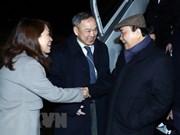Le PM Nguyên Xuân Phuc est arrivé en Suisse pour assister au Forum économique mondial de Davos 2019