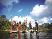 Le stand up paddle sur le fleuve Sài Gon: bonheur garanti!