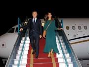 Le président argentin entame sa visite d'État au Vietnam