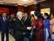 Le dirigeant Nguyen Phu Trong poursuit sa visite officielle d'amitié au Laos