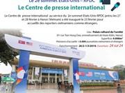Le Centre de presse international au service du 2e sommet Etats-Unis – RPDC