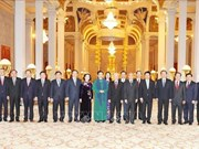 Le dirigeant Nguyen Phu Trong remercie le Roi du Cambodge