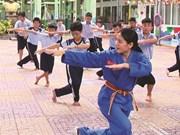 À Hô Chi Minh-Ville, le Vovinam fait ses classes