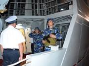 La frégate 012-Ly Thai To est partie pour la Malaisie et le Myanmar