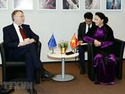 Des activités de la présidente de l'Assemblée nationale Nguyen Thi Kim Ngan en Belgique