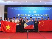 Le 6e concours de mathématiques de Hanoï élargie, un échange des élèves amoureux de mathématiques